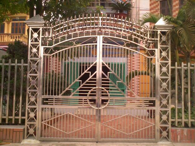 Cửa cổng sắt, inox đẹp TP Vinh Nghệ An